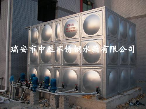 40吨保温组合水箱