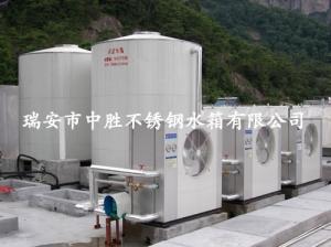 雁荡山假日酒店15吨热水工程水箱