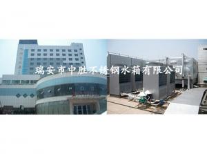 温州天都大酒店30吨热水工程水箱