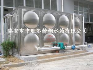 温州瓯斯达热水工程水箱