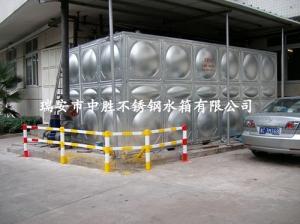 温州将军大酒店45吨保温水箱