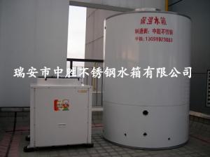 时代广场专用圆形保温水箱