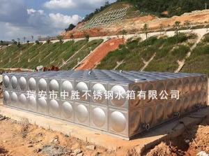 大型不锈钢拼装组合水箱