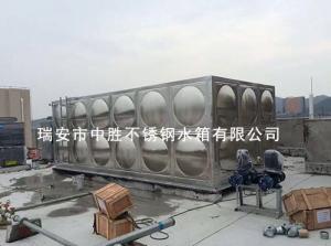 大厦楼顶装保温水箱