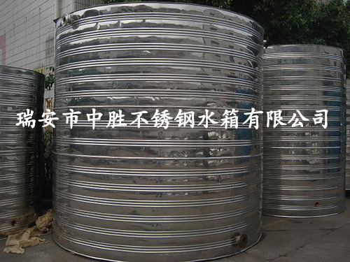 3吨立型圆保温水箱