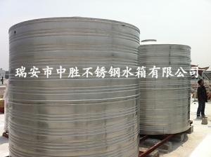 不锈钢圆桶水塔