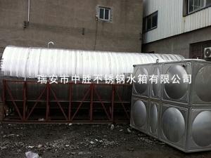 不锈钢卧式水塔水箱
