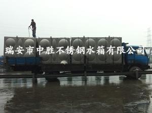 不锈钢螺栓形拼装水箱